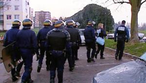 Intervention d'un millier de policiers à Villiers-le-Bel (18 février 2008)