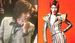 Mick Jagger David Bowie
