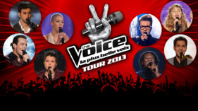 Embarquez pour la tourne The Voice 2013