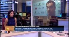 """Coupe Davis : """"l'expérience de Federer"""" a fait la différence selon Gasquet"""