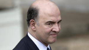 Le ministre de l'Economie, Pierre Moscovici.