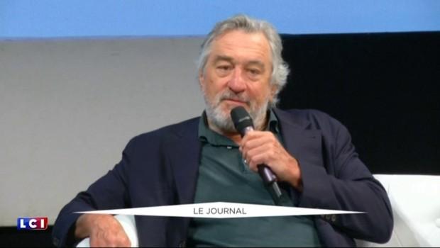 "Robert De Niro : ""Ce que Trump dit est fou, ridicule"""