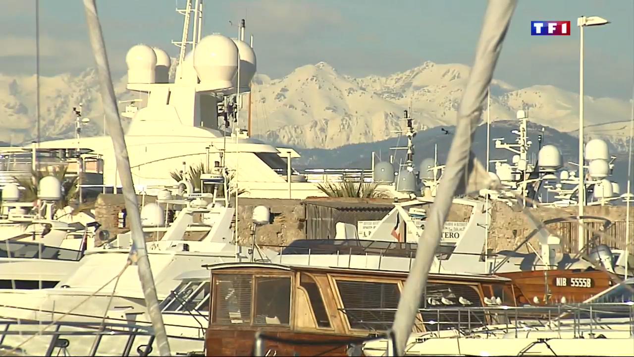 Ports de la c te d 39 azur en hiver 4 5 antibes plus - Plus grand port de plaisance d europe ...