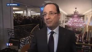 """Hollande : """"Nous avons besoin de la Russie pour régler la question syrienne"""""""