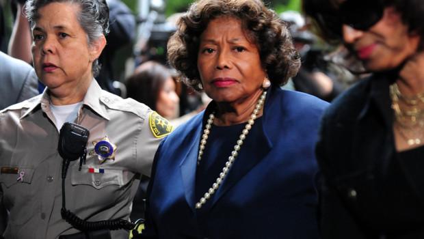 La mère de Michael Jackson, Katherine Jackson, lors de la dernière audience du procès du docteur Conrad Murray, le 29 novembre 2011