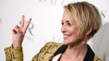 "Sharon Stone à l'avant-première de ""Mothers and Daughters"" à Londres le 28 avril 2016"
