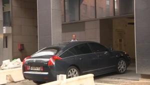 Arrivée Sarkozy à Nanterre