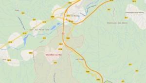 Carte du Boulou/Maureillas dans les Pyrénées Orientales