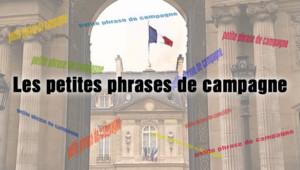 Chaque vendredi sur TF1 News, retrouvez les phrases de la semaine de la campagne présidentielle 2012.
