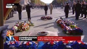 Commémorations du 11 novembre : hommage aux militaires morts pour la France depuis 2013