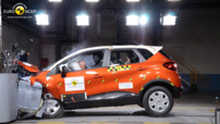 Crash-Test EuroNCAP Renault Captur 2013