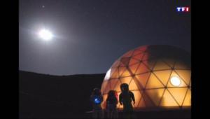 Le 20 heures du 28 août 2015 : Une mission de simulation de vie sur Mars à Hawaï - 1557