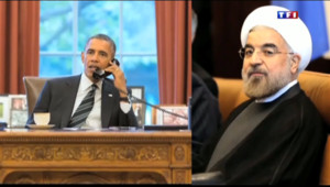 Le 20 heures du 28 septembre 2013 : Etats-Unis/Iran : conversation t�phonique historique entre Obama et Rohani - 925.8389999999999