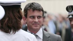 Manuel Valls, ministre de l'Intérieur en juin 2012