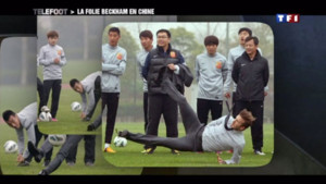 Beckham en chine
