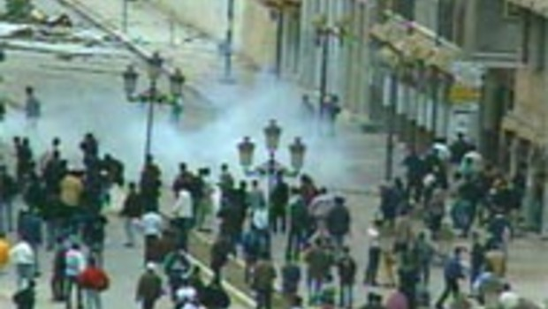 algérie kabylie émeutes vue de haut