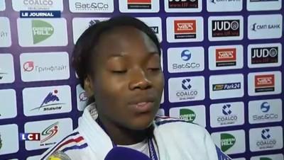 """Clarisse Agbegnenou, championne du monde de judo : """"C'est vraiment une belle revanche"""""""