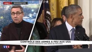 Contrôle des armes à feu aux Etats-Unis : Obama présente une série de mesures