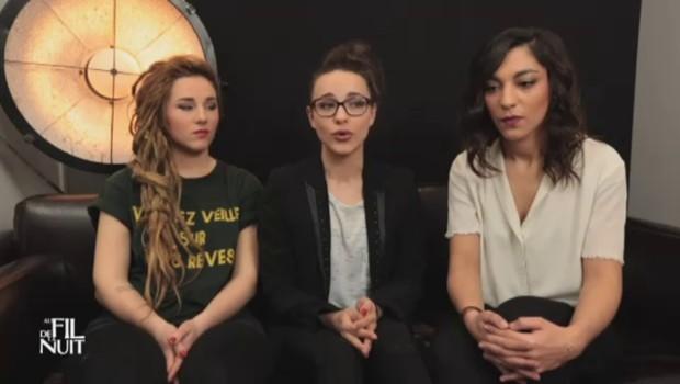 Des filles, un violoncelle et des voix : ce qu'on trouvera dans le futur album de LEJ