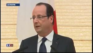 François Hollande au Japon : signature d'un accord