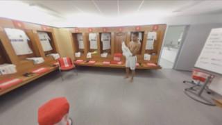 Le nouveau maillot extérieur de l'AS Monaco dévoilé en réalité virtuelle