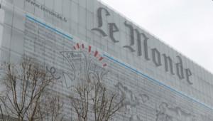 Les locaux du journal Le Monde à Paris.