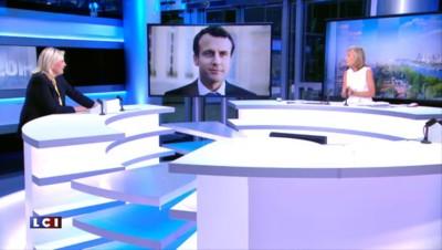"""M. Le Pen sur son père : """"Je ne voudrais pas qu'il parasite le message"""""""
