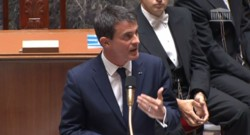 Manuel Valls à l'Assemblée, le 24/6/15