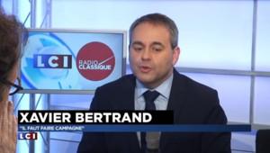 """Xavier Bertrand : """"La solution ne viendra jamais des extrêmes"""""""