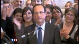 """François Hollande veut """"convaincre Mme Dugenou"""""""