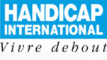 Logo Vivre debout Handicap international