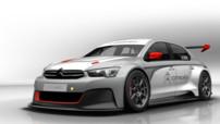 Citroën C-Élysée WTCC, image virtuelle de la voiture engagée pour la saison 2014