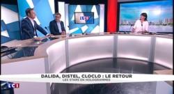 """Dalida, Distel, cloclo et Brant dans """"Hit parade"""" : """"Les 4 artistes se sont vraiment rencontrés"""""""
