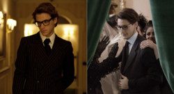 Gaspard Ulliel et PIerre Niney en Yves Saint Laurent