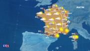 La météo de ce mercredi : 6 départements en alerte orange, rafales violentes attendues en Corse