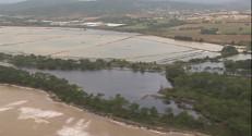 Le 20 heures du 28 novembre 2014 : Var : les images des inondations vues du ciel - 404.502