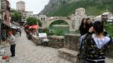 Le pont du quartier historique de Mostar a été détruit en 1993, puis reconstruit.
