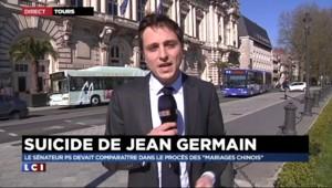 """Mort de Jean Germain : le maire de Tours """"a mis les drapeaux en berne"""""""