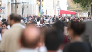 Une foule de gens