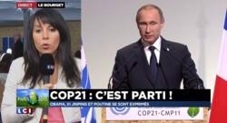 COP21 : Poutine promet de réduire de 13% les émissions de gaz à effet de serre