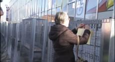 Le 13 heures du 25 décembre 2014 : A Angoulême, des bancs grillagés pour repousser les SDF - 1052.669