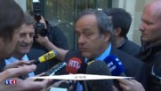 """Michel Platini devant le TAS : """"On se défend de rien du tout, on exprime la vérité"""""""