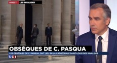 Obsèques de Charles Pasqua : les personnalités arrivent tour à tour aux Invalides