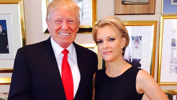 Donald Trump Megyn Kelly USA Etats-Unis