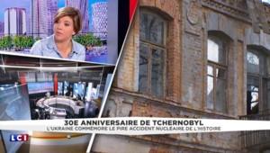 Il revient tout juste d'un tournage à Tchernobyl, un grand reporter de TF1 raconte ce qu'il a vu