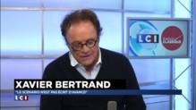 """Xavier Bertrand : """"S'il y a de bonnes mesures du gouvernement, je les voterai sans états d'âme"""""""