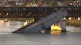 Effondrement d'un pont à Bayonne : reprise du trafic de la SNCF lundi