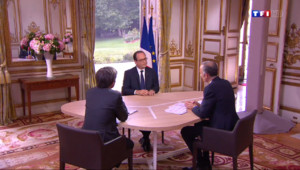 Le 20 heures du 14 juillet 2014 : Interview de Fran�s Hollande : l%u2019essentiel de ses d�arations - 459.412