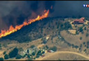 Incendie violent en Californie