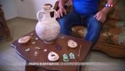 À la frontière syrienne, au cœur du trafic d'objets antiques pillés